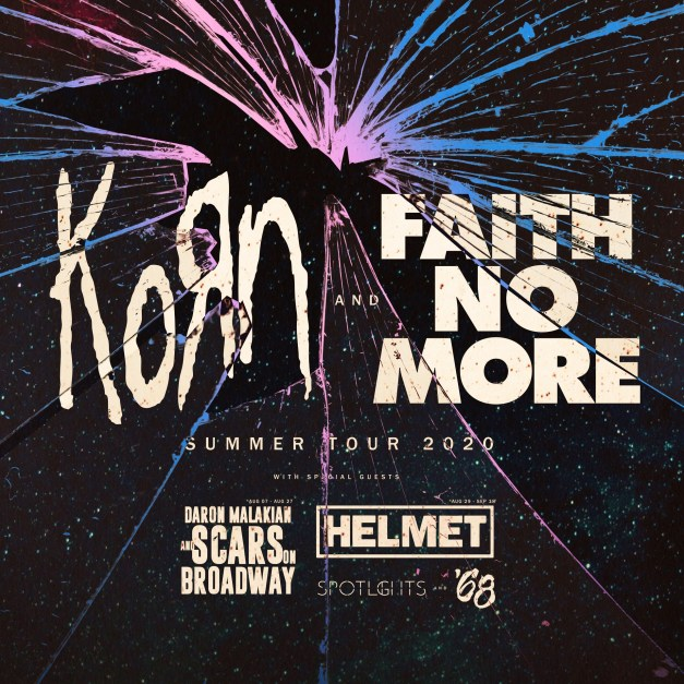 faith-no-more-korn-tour poster