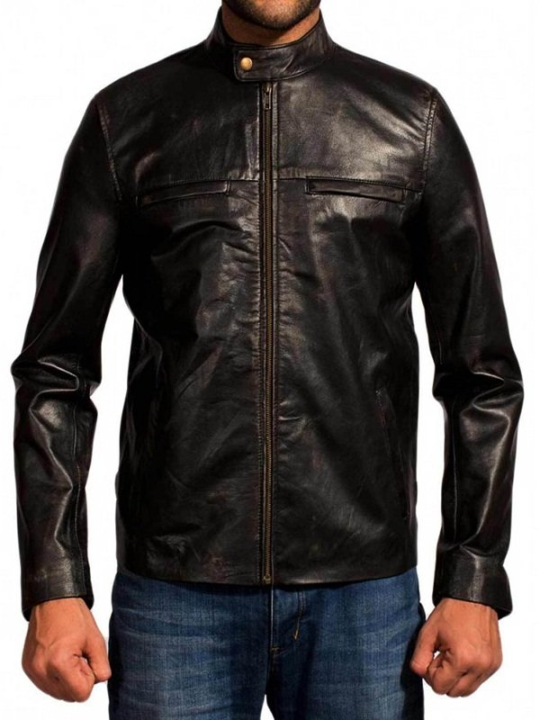 Aaron Taylor-Johnson Godzilla Leather Jacket - RockStar Jacket