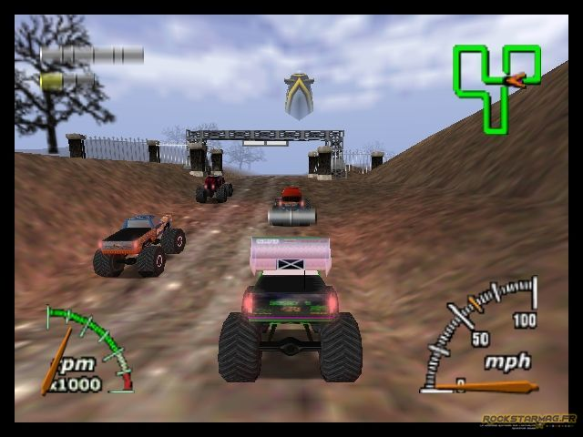 Image Monster Truck Madnes 64