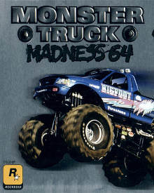 Jaquette Monster truck Madness 64