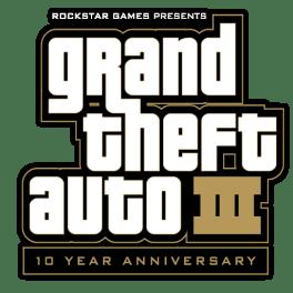 Logo Grand Theft Auto III 10th Anniversary
