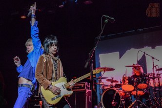 Kix perform on the Monsters Of Rock Cruise