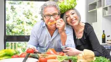 Zusammen gesund kochen und Spass haben