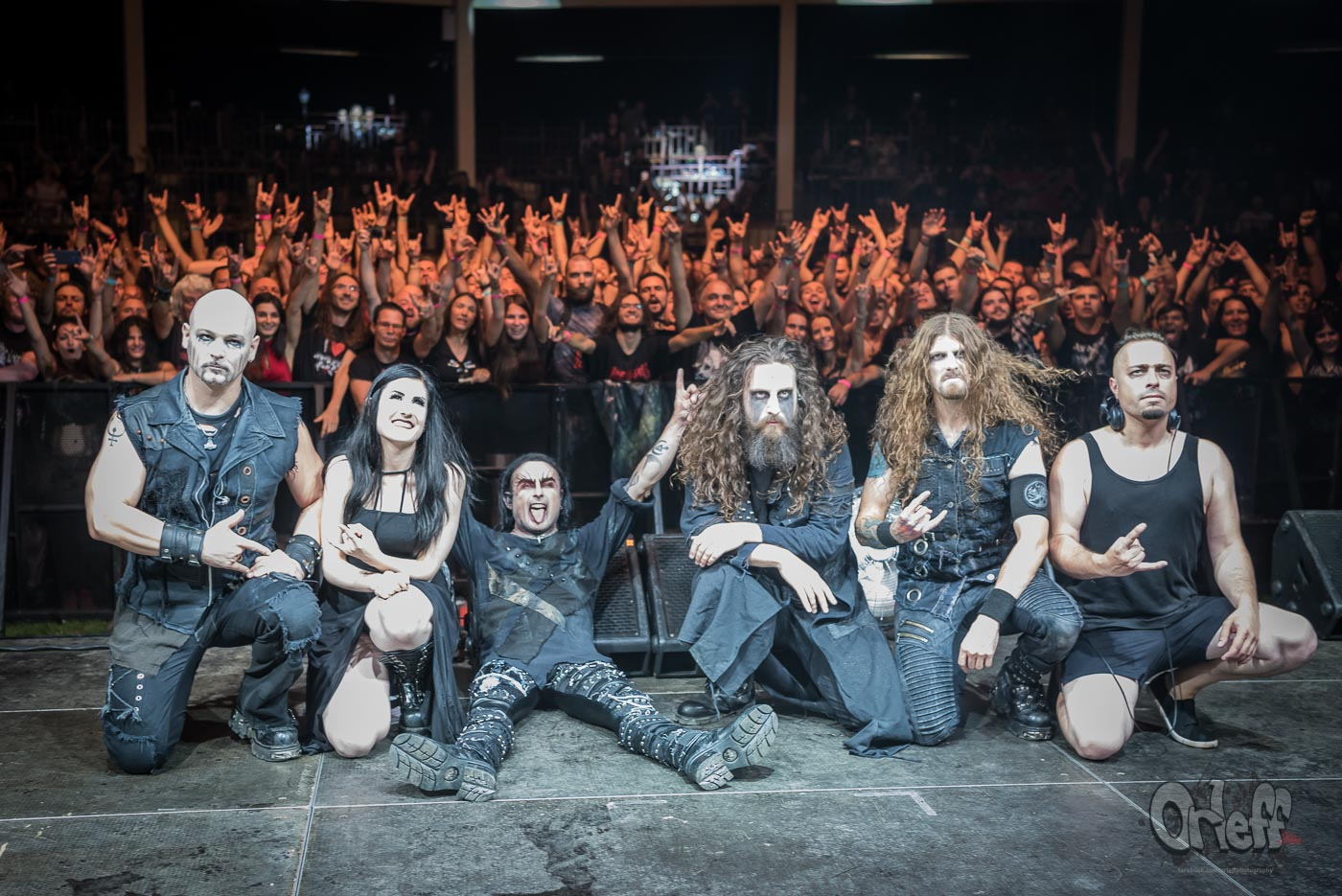 Cradle Of Filth @ Wolf Fest, 2019