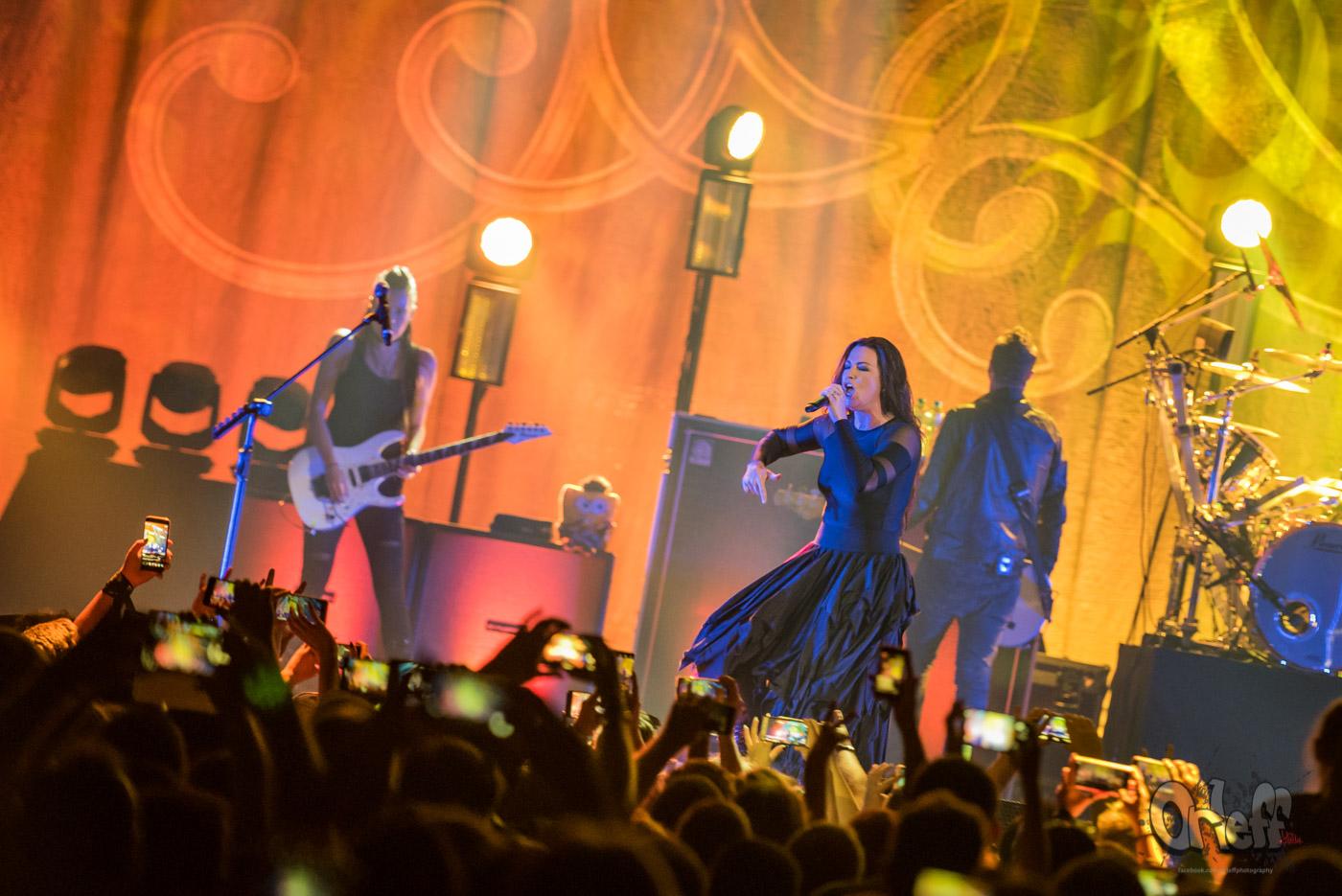 Evanescence @ Arena Armeets, 2019
