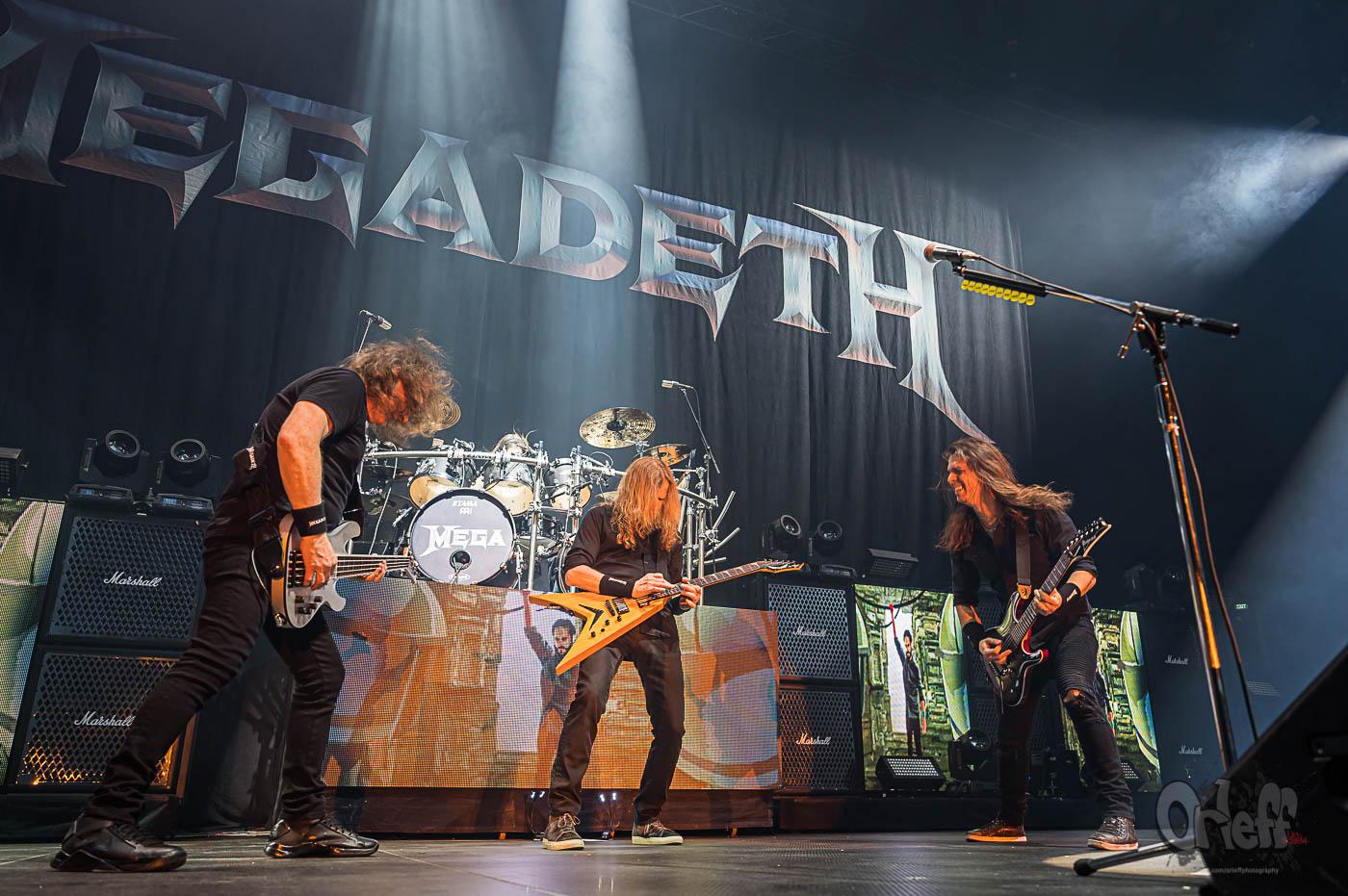 Megadeth @ Arena Armeets, 2020