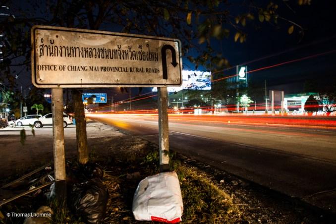 Chiang Mai road