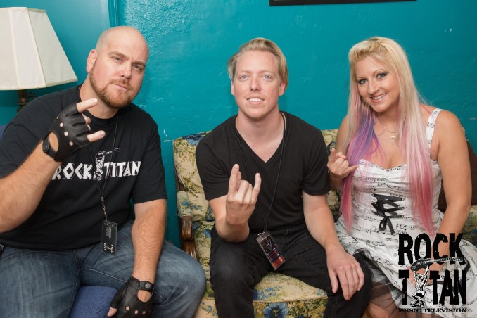 Tantric drummer Mike Smith with Rock Titan TV
