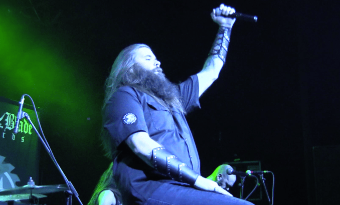 Big John of Necromancing the Stone LIVE at the TLA