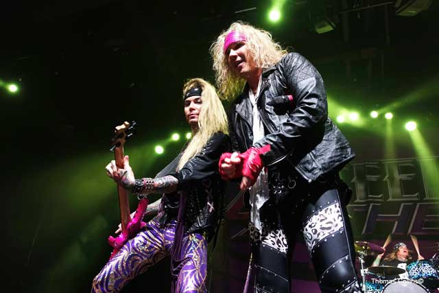 Steel Panther LIVE at The Fillmore Lexxi Foxx and Michael Starr photo by Thomas Collins