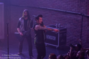 Hinder - Photo by Gianna Chiofalo