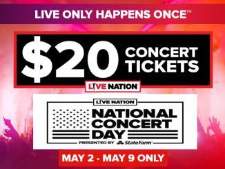 Live Nation National Concert Day 2017