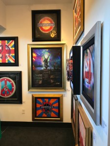 Rick Allen art exhibit at Wentworth Gallery