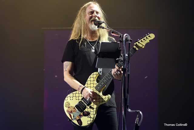 Jerry Cantrell with Alice in Chains - Photo by Tom Collins