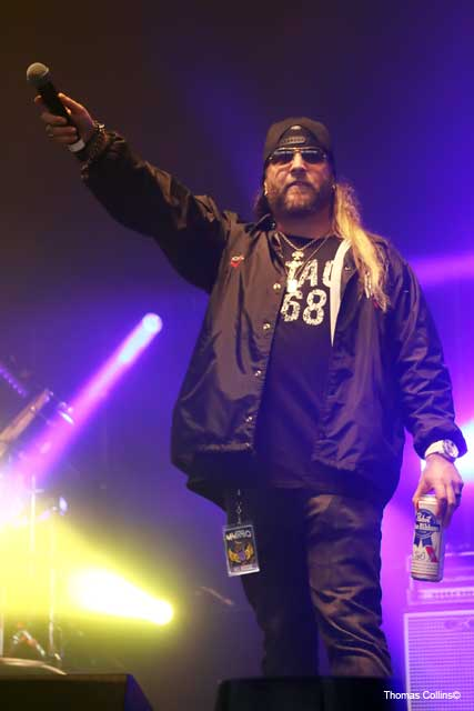 Brent Porche of 93.3 WMMR - Photo by Tom Collins