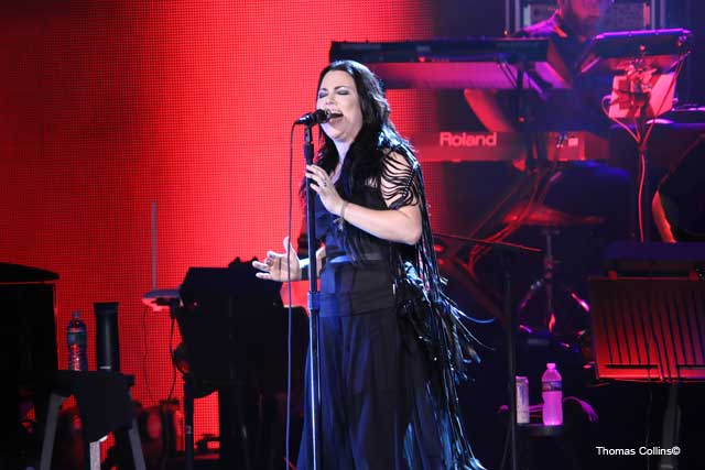 Amy Lee - Photo by Tom Collins - Rock Titan TV