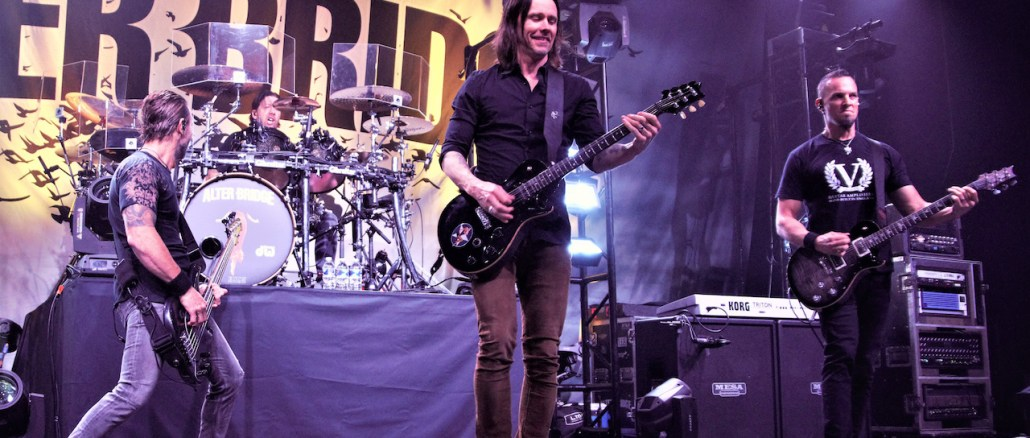 Alter Bridge - Photo by Out With Ambler - Rock Titan