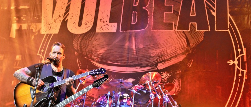 VOLBEAT at KNOTFEST ROADSHOW 2019 - Photo by Out With Ambler - Rock Titan