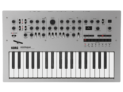 New Korg Minilogue Analog Synthesizer