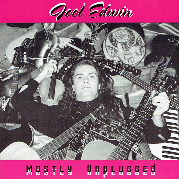 CD Cover Joel Edwin Mostly Unplugged