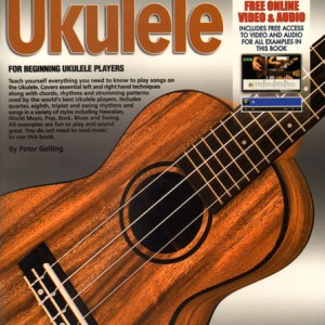 NEW Progressive (11888) Beginner Ukulele Book