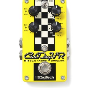 NEW DigiTech (CABDRYVR) Speaker Cabinet Simulator Pedal