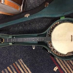 Vintage 30's Maybelle Queen Tenor Banjo