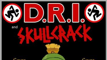 D.R.I and Skullcrack preforming live at the Rock!