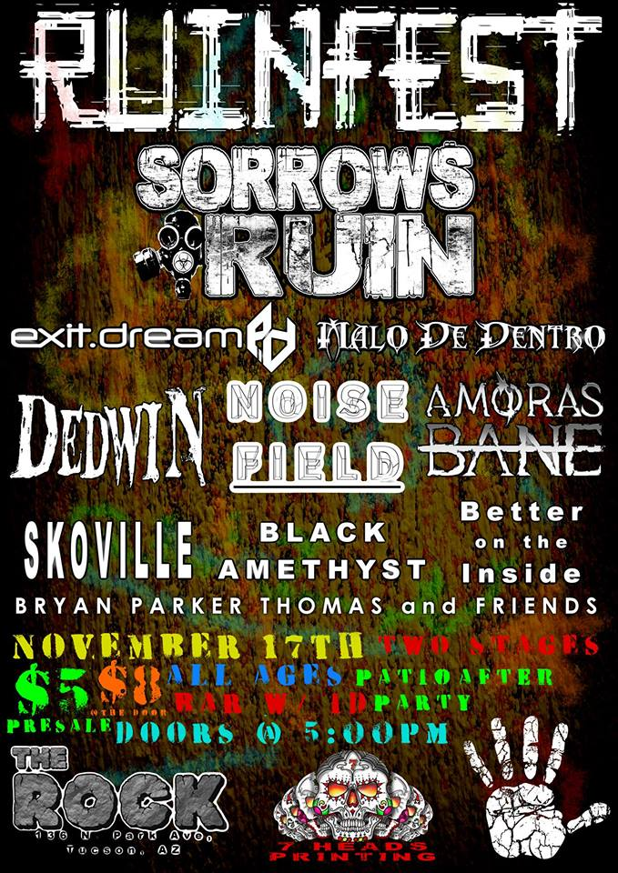 "Ruinfest is Sorrows Ruin's pseudo-annual ""party with our friends"""