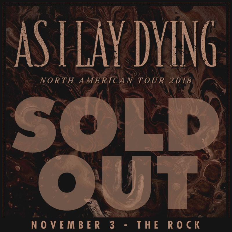https://www.facebook.com/asilaydying/?fref=mentions preforming live at The Rock 11/03/2018!