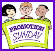 Promotion Sunday