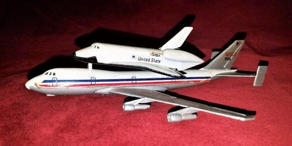 Vintage Lintoy NASA 905 Boeing 747 with Space Shuttle ...