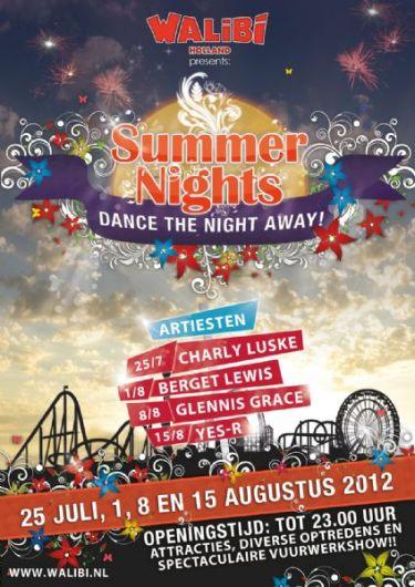 Promotieposter van de Summer Nights 2012