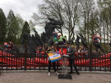 Opening Drakennest Avonturenpark Hellendoorn
