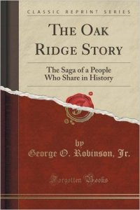 Oak Ridge Story book cover