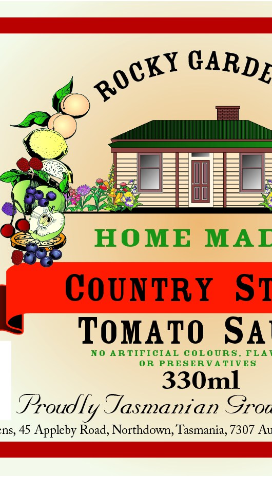 Country Style Tomato Sauce Nutritional Information