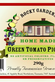 Green Tomato Pickles Nutritional Information