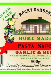 Garlic & Herb Pasta Sauce Nutritional Information
