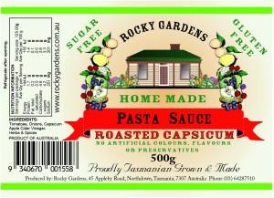 Roasted Capsicum Pasta Sauce Nutritional Information