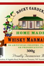 Whisky Marmalade Nutritional Information