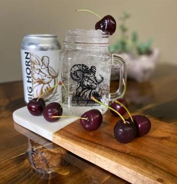 Brunette – Natural Black Cherry & Vodka Cooler