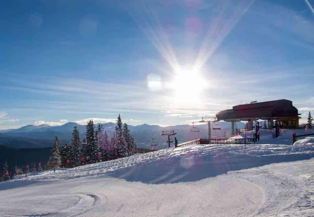 Keystone Ski Resort Black Car Service Denver Colorado