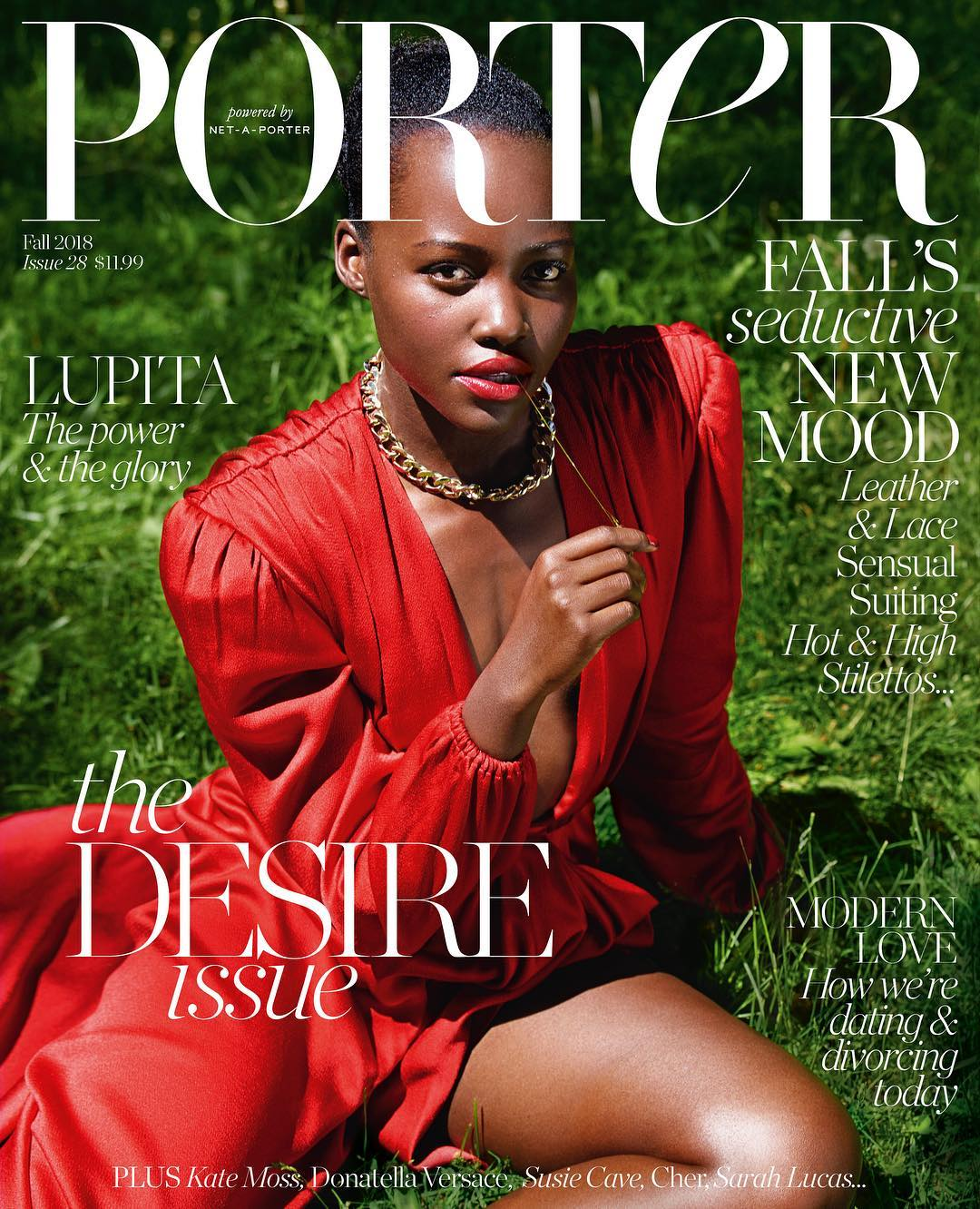 Le Meilleur Lupita Nyong O Covers Porter Magazine Talks Challenging Ce Mois Ci