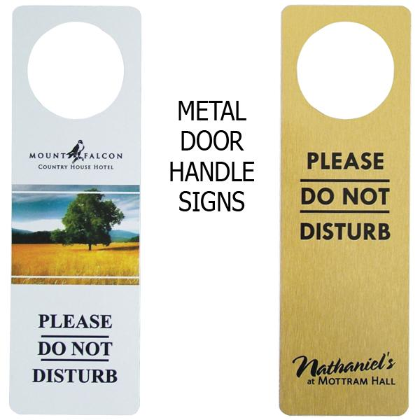 Le Meilleur Metal Door Signs Do Not Disturb Ce Mois Ci