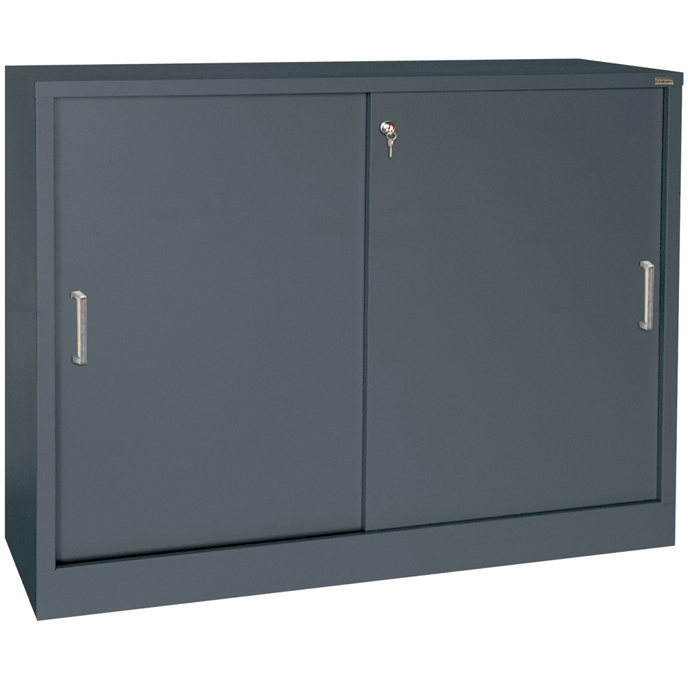 Le Meilleur Sliding Door Storage Cabinet 29 Inch High In Storage Ce Mois Ci