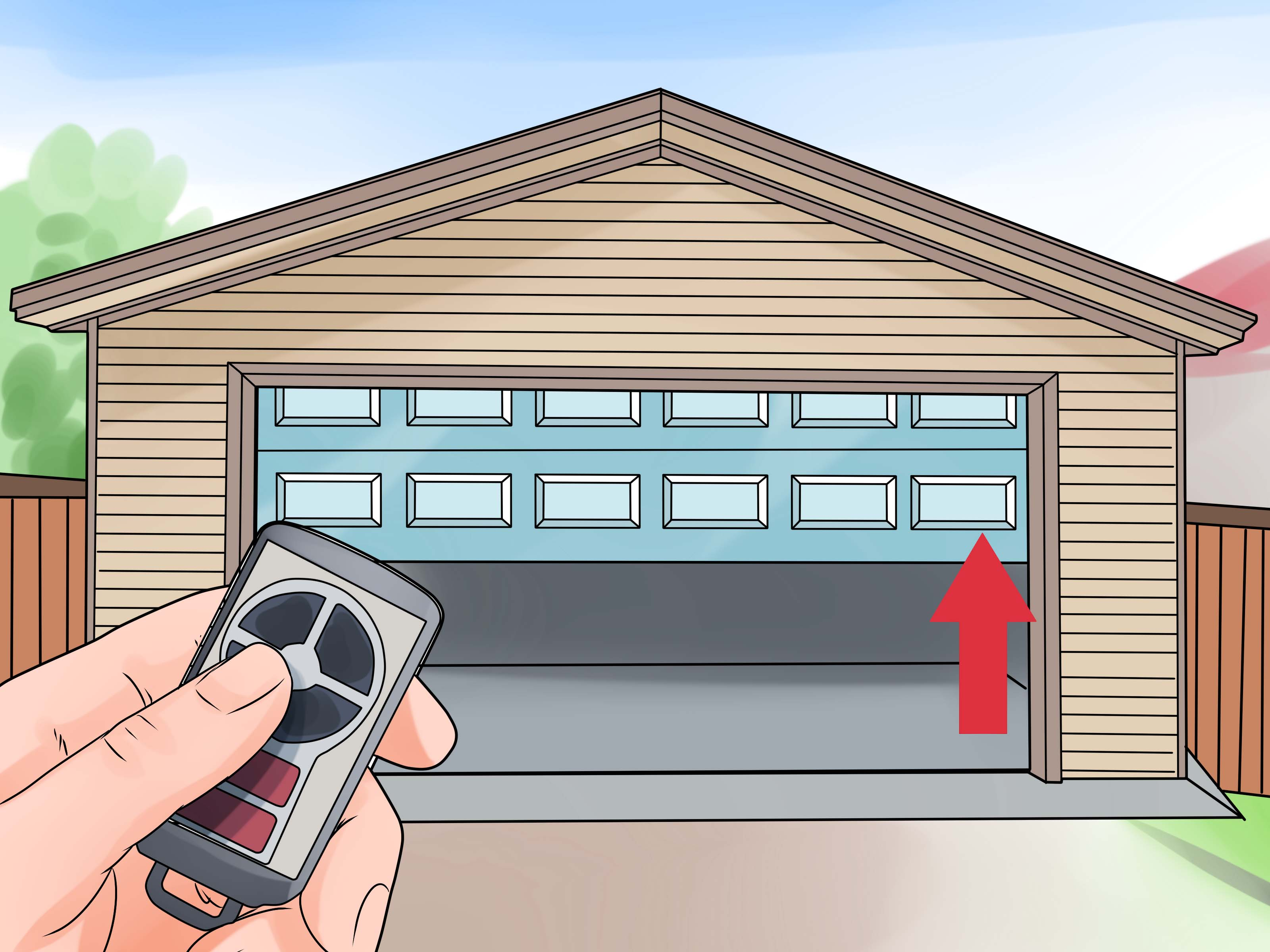Le Meilleur How To Install A Garage Door Opener With Pictures Wikihow Ce Mois Ci