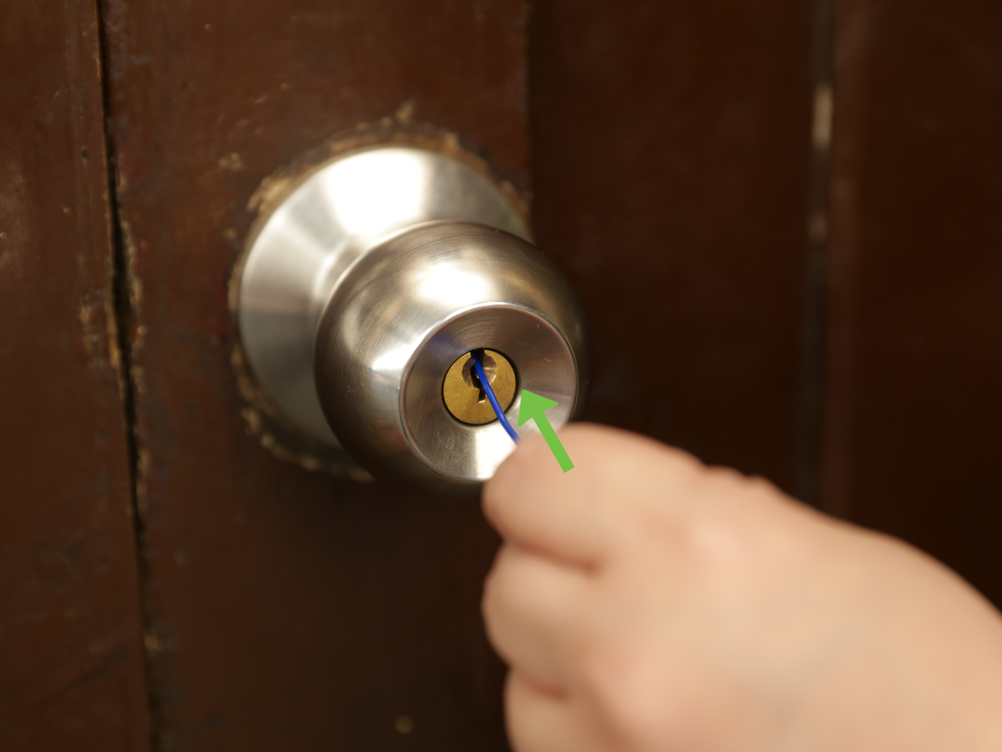 Le Meilleur 3 Ways To Pick Locks On Doorknobs Wikihow Ce Mois Ci