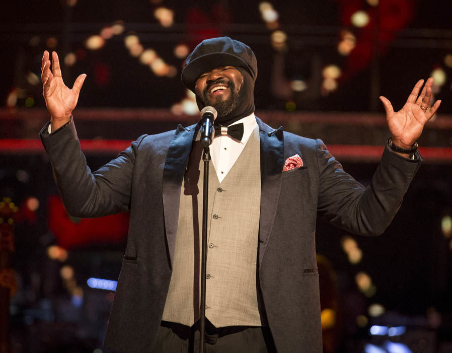 Le Meilleur Jazz Singer Gregory Porter In Pictures Celebrity Ce Mois Ci