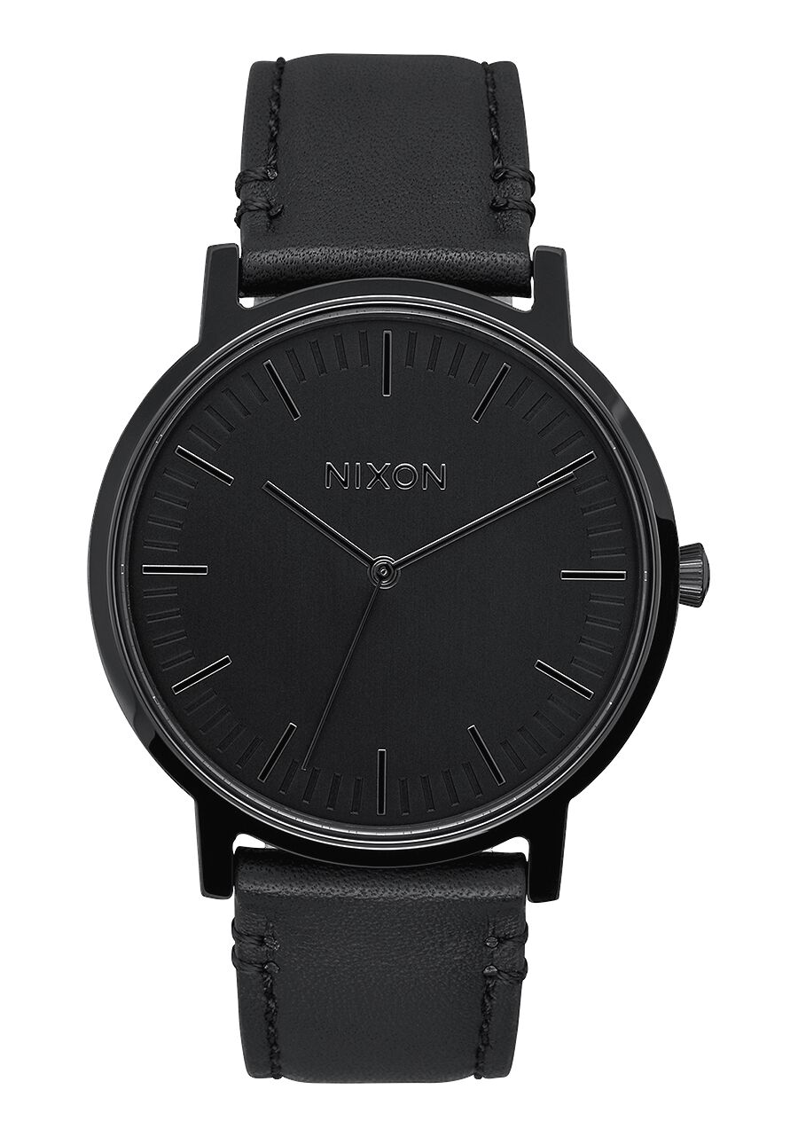 Le Meilleur Porter Leather Men S Watches Nixon Watches And Premium Ce Mois Ci