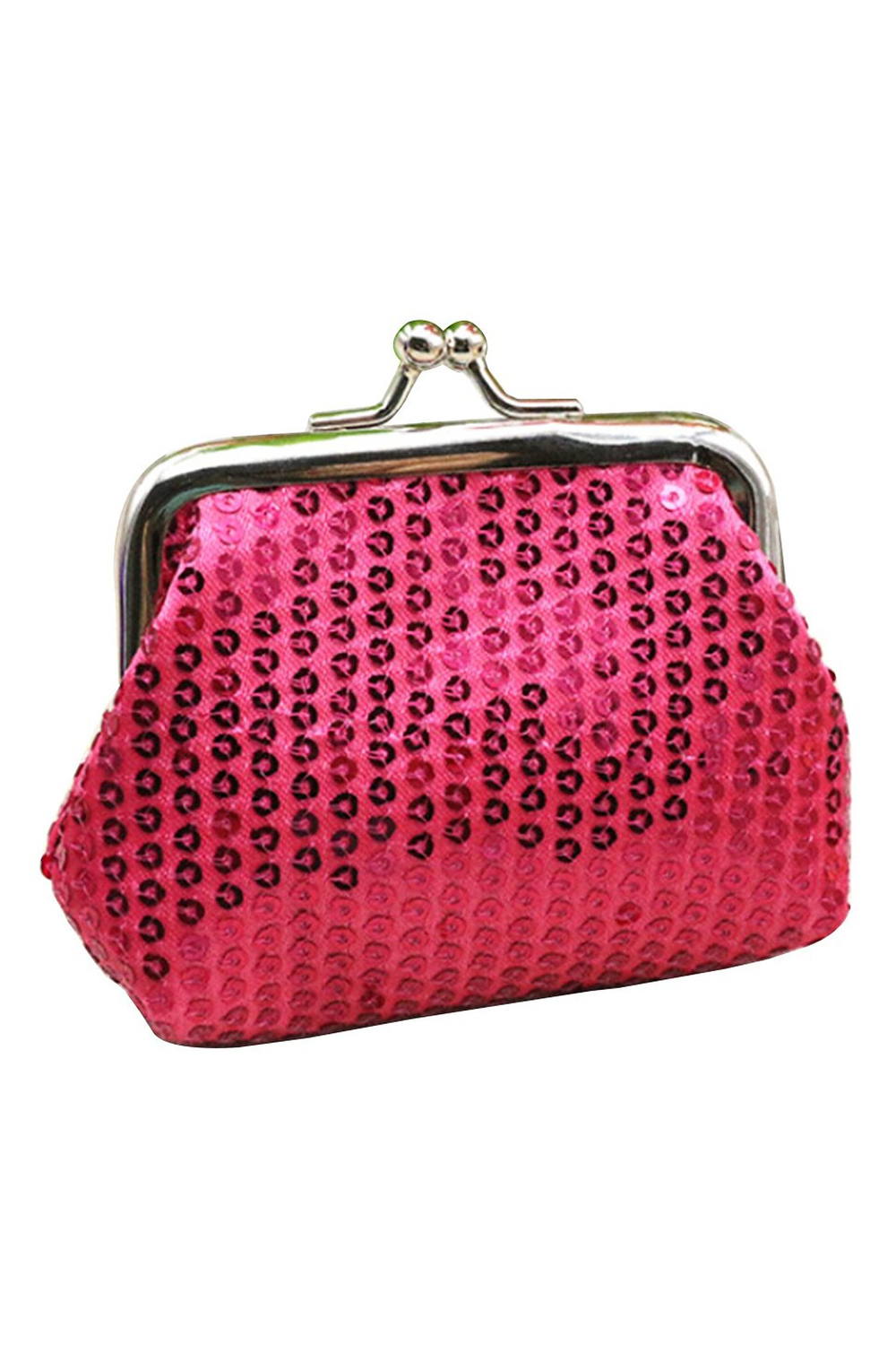 Le Meilleur Women S Sequins Coin Purse Buckle Mini Wallet Lw Ebay Ce Mois Ci